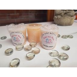 Vanilla votive candle