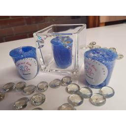 Blueberry votive candle packet of 4