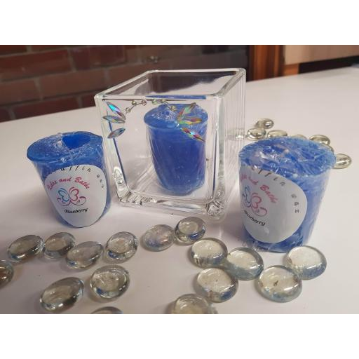 Blueberry Votive Candle (4 pack)