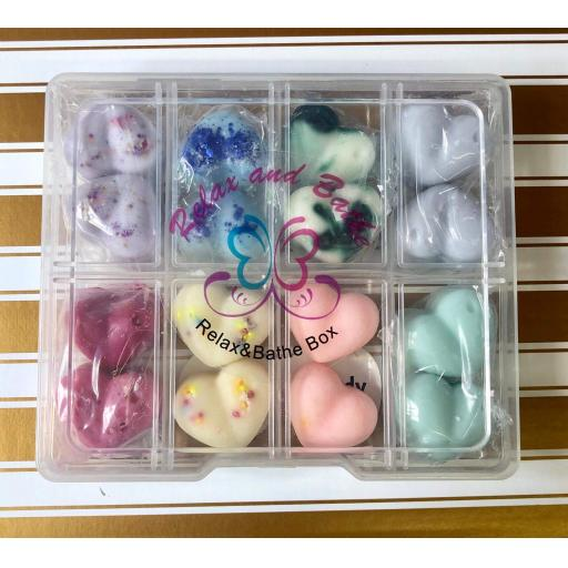 relax and bathe scented sample box