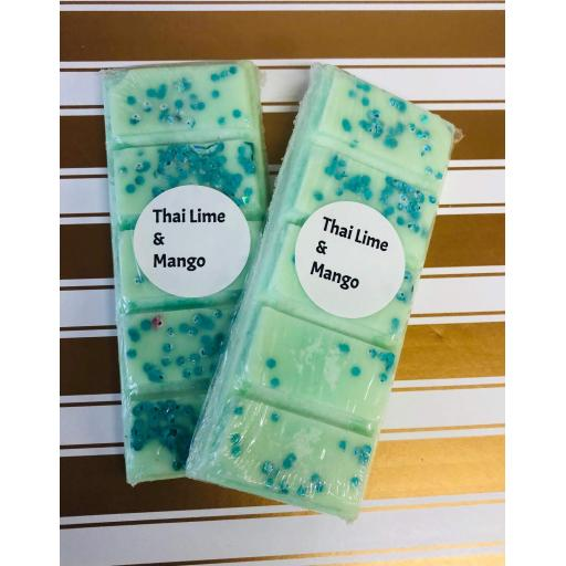 Thai Lime and Mango snap bar
