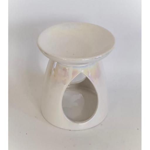 White Peralised Wax burner